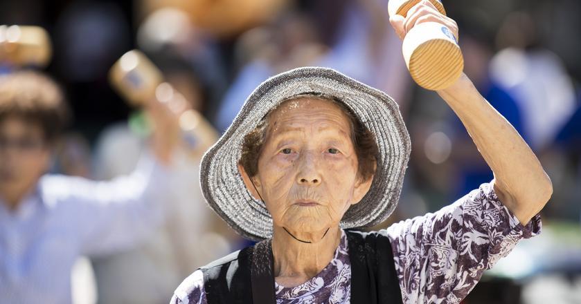 Japonia regularnie bije swój własny rekord liczby stulatków