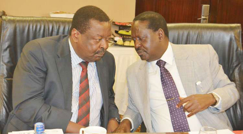 Mudavadi accuses Raila's party of using money to cause disputes in Ford-Kenya, ANC