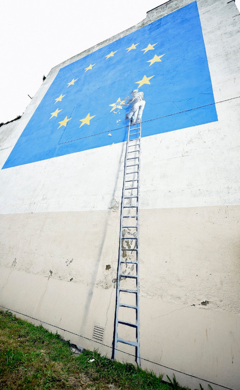 Banksy o brexicie