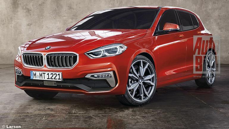 Nowe BMW serii 1 - wizualizacja