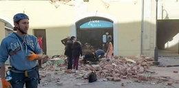Trzęsienie ziemi zaskoczyło dziennikarkę na wizji. Mocne nagranie