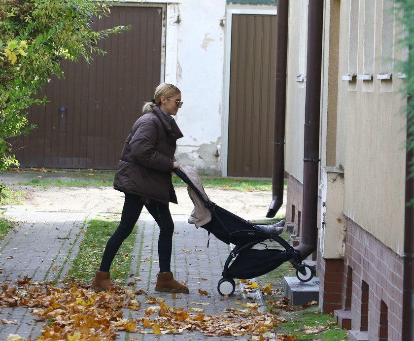 Kasia Tusk odwiedziła rodzinny dom