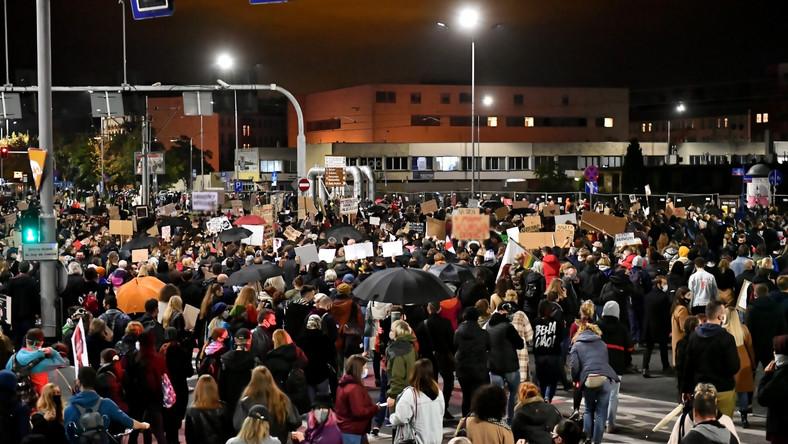 Protesty we Wrocławiu