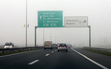 Najopterećeniji putni pravci su autoputevi i državni putevi I prioriteta