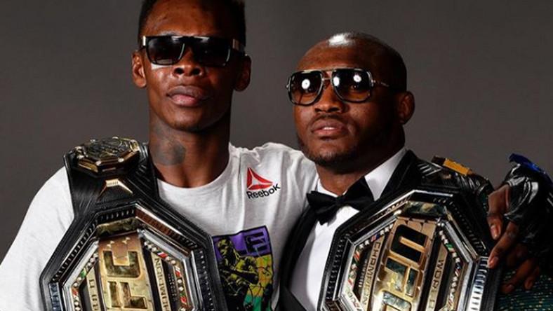 Israel Adesanya and Kamaru Usman are UFC champions (instagram/pulsenigeria24/7)