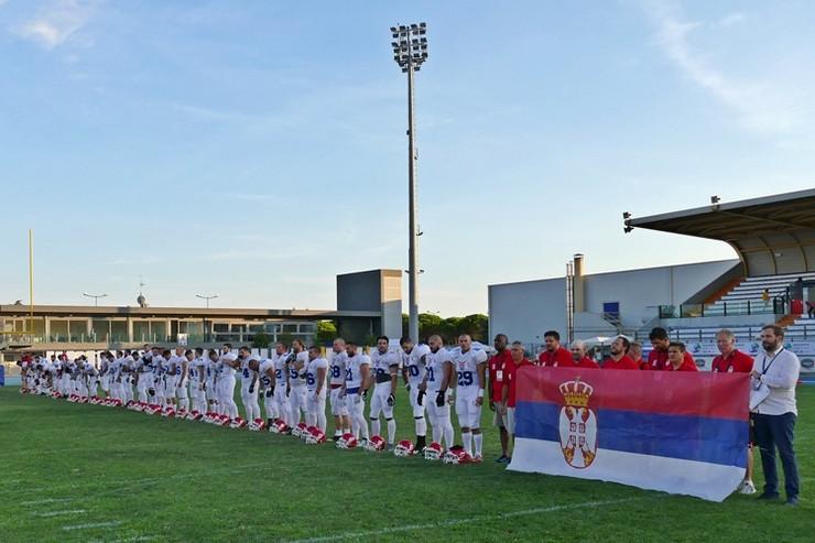 Reprezentacija Srbije u američkom fudbalu