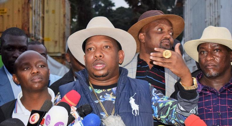 You abandoned your wife to marry Jaguar's girlfriend – Governor Mike Sonko leads anti Alfred Mutua campaign in Machakos