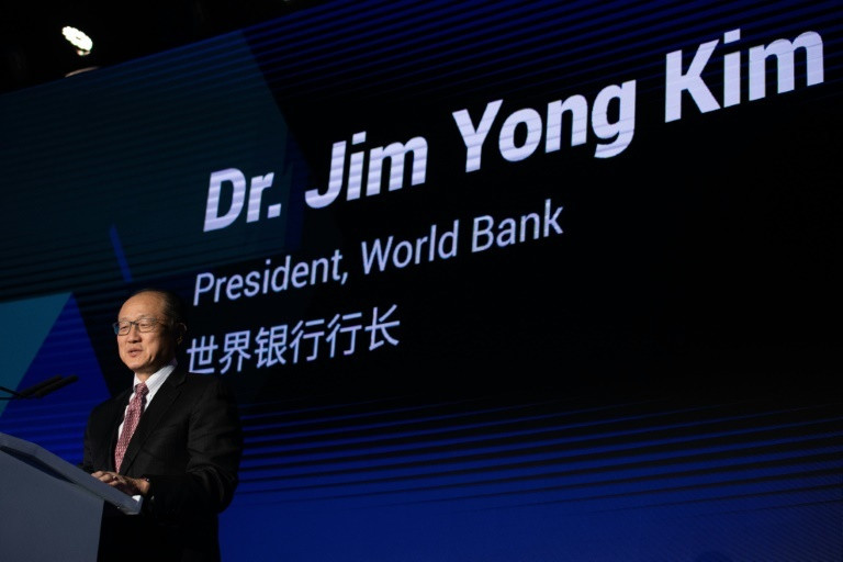 Jim Yong Kim, outgoing President at World Bank