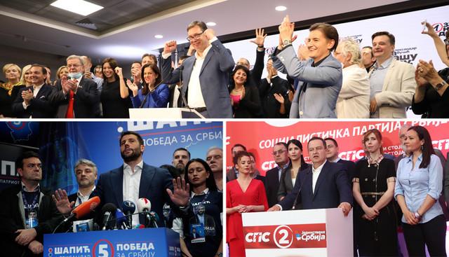 izbori dan posle kombo foto RAS