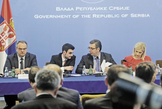 Vlada Srbije i bankari