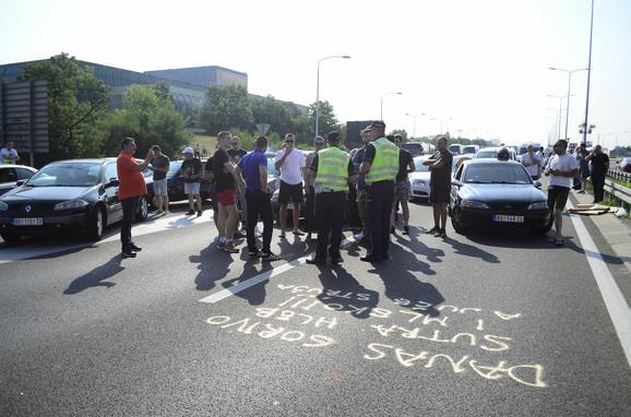 Saobraćajna policija na Gazeli