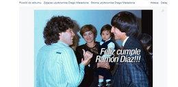 Diego Maradona pokazał zdjęcie sprzed lat!