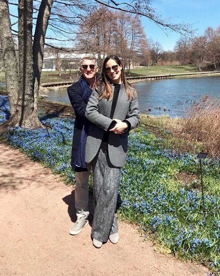 Ana Ivanović i Bastijan Švajnštajgner