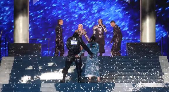 Madona na Evroviziji