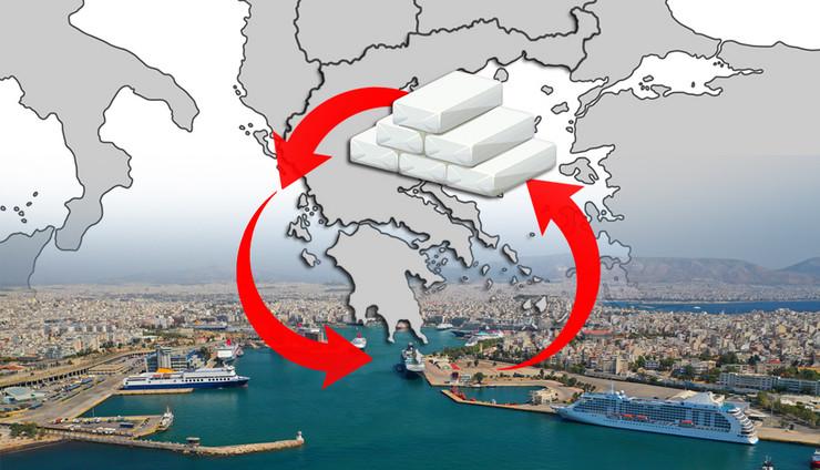 grcke luke kokain kombo foto Shutterstock