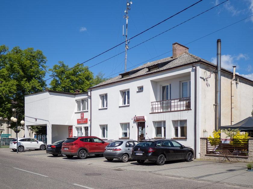 Siedziba urzędu gminy w Rząśni