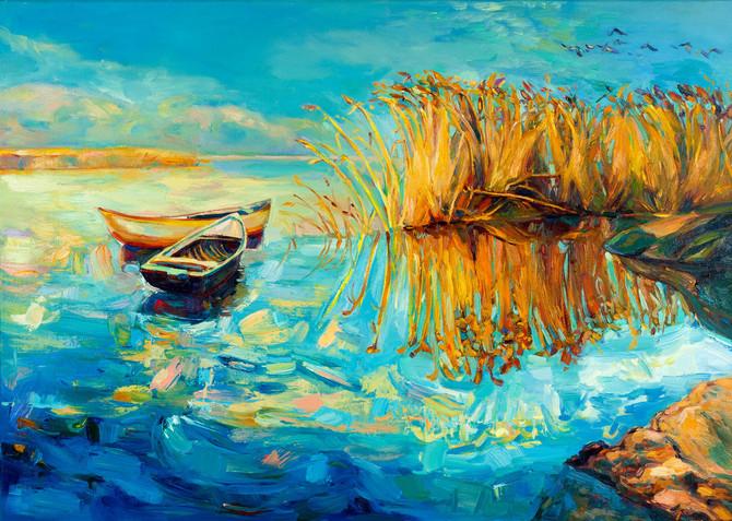 Boyan Dimitrov, ulje na platnu