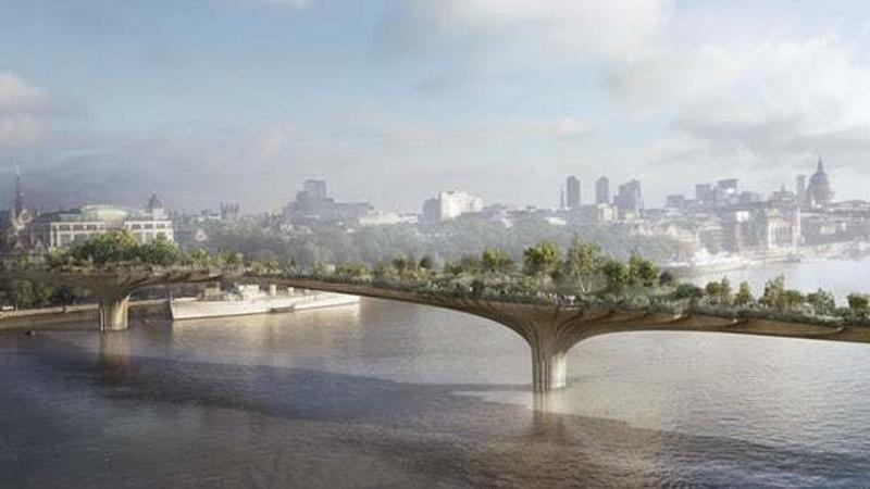 Londyn rezygnuje z Garden Bridge