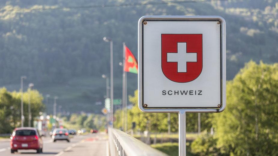 Granica Szwajcarii