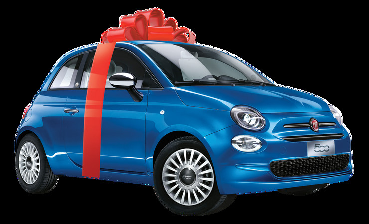 Automobili Fiat 500 I 1000 Punih Rezervoara Goriva Počinje