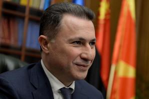 Makedonija RASPISALA POTERNICU za Gruevskim