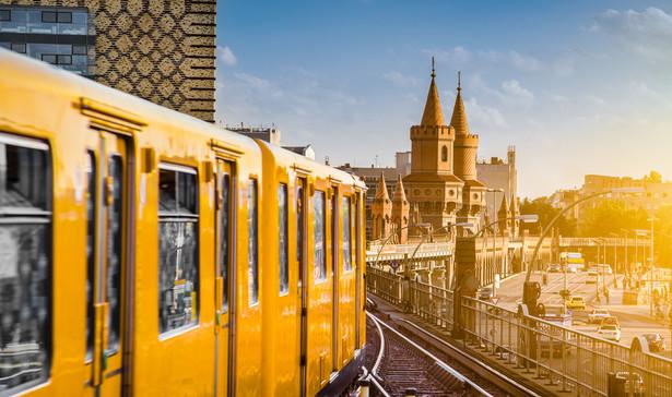 Metro w Berlinie, Niemcy.