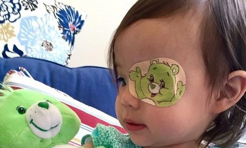 layla spatches dziewczynka dziecko chora