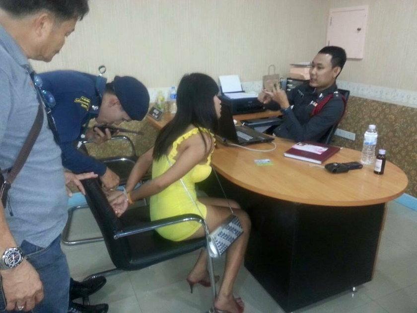 Polka w szpitalu w Tajlandii