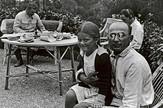 Šef Narodnog komesarijata za unutrašnje poslove Lavrentij Berija sa Staljinovom ćerkom Svetlanom
