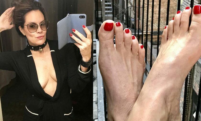 Jej stopy to dla mężczyzn prawdziwy afrodyzjak. 47-latka zarabia na nich fortunę