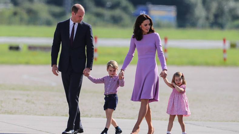 Książę William i księżna Kate z dziećmi: George'em i Charlotte