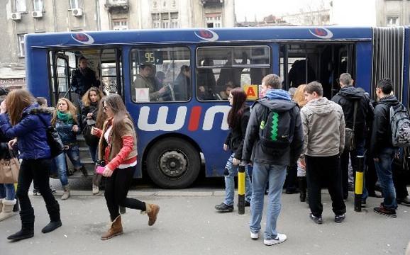 Gužve u autobusu 95