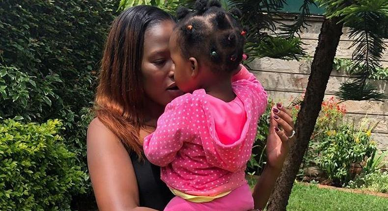 I thank God, baby is okay – Ms Momanyi speaks after one year-old daughter's accident