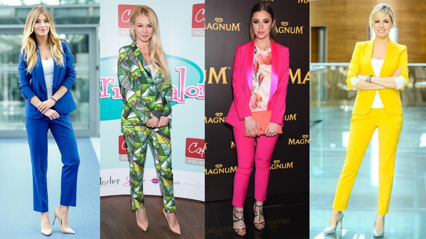 2aad601214 Damskie garnitury w pięknych kolorach