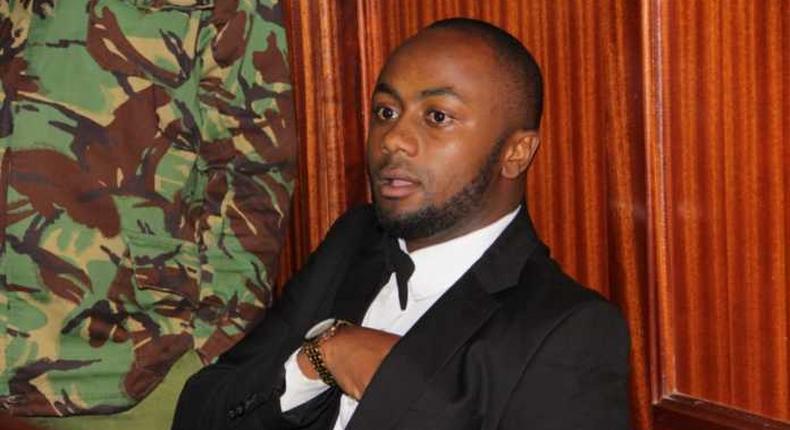 Jowie Irungu dons flashy tuxedo during first hearing of Monica Kimani murder trial