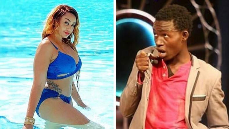 Kama ni raha tupe yote – MCA Tricky to Zari as she steps out in a bikini