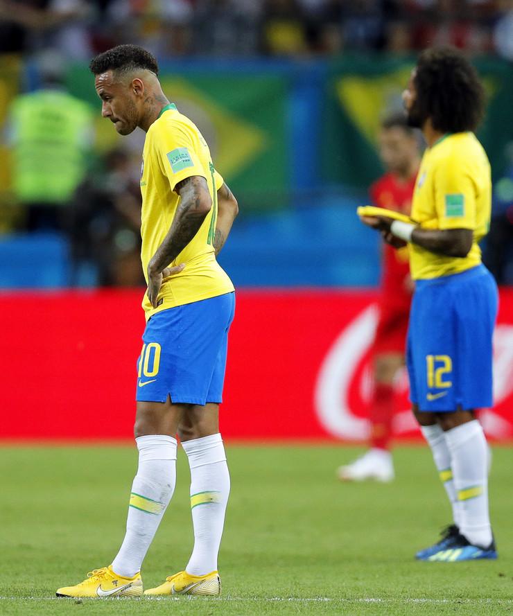 Fudbalska reprezentacija Brazila, Fudbalska reprezentacija Belgije
