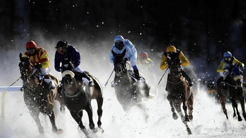 Nie tylko na stoku trwa zimowe szaleństwo w St. Moritz