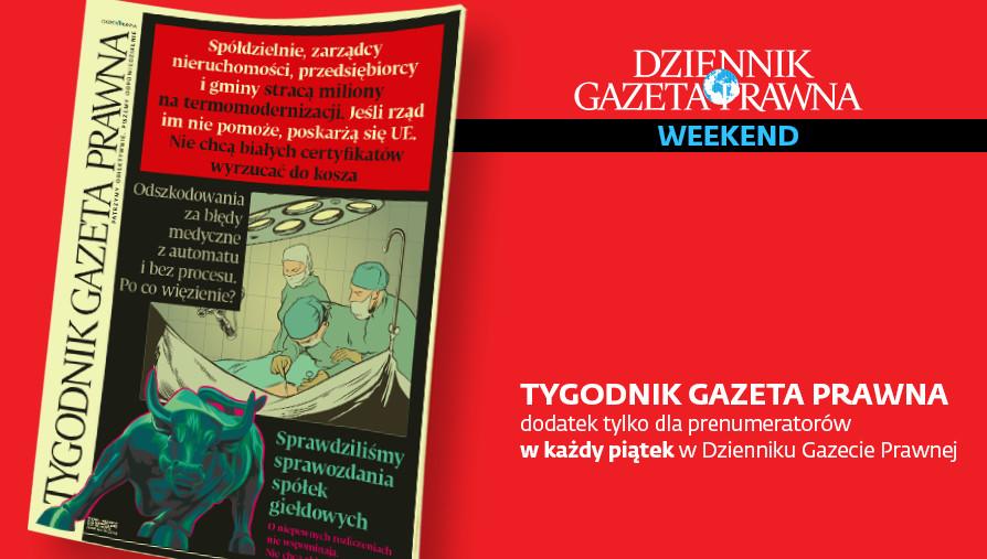 Tygodnik Gazeta Prawna z 7 czerwca 2019 r