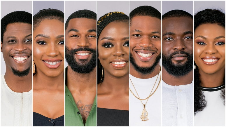 Diane, Frodd, Jackye, Gedoni, Mercy, Mike and Seyi are up for possible eviction on the 8th live eviction show. [Multichoice NG]