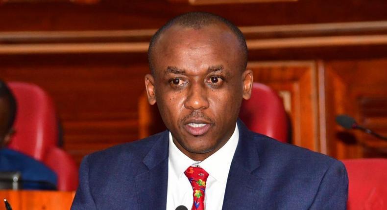 Makueni Senator Mutula Kilonzo Junior worried over Chinese men taking over stalls at Kenya's Gikomba, Nyamakima and Kamukunji markets