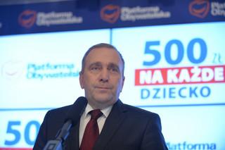 Schetyna: 500+ to święta obietnica państwa polskiego. Za 4 lata będziemy rządzić i nie wygasimy programu