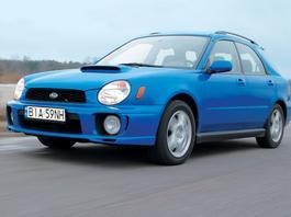 Subaru Impreza WRX 2.0 z archiwum Auto Świata