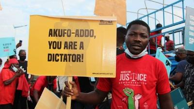 #March4Justice: You're a dictator - NDC tells Nana Addo