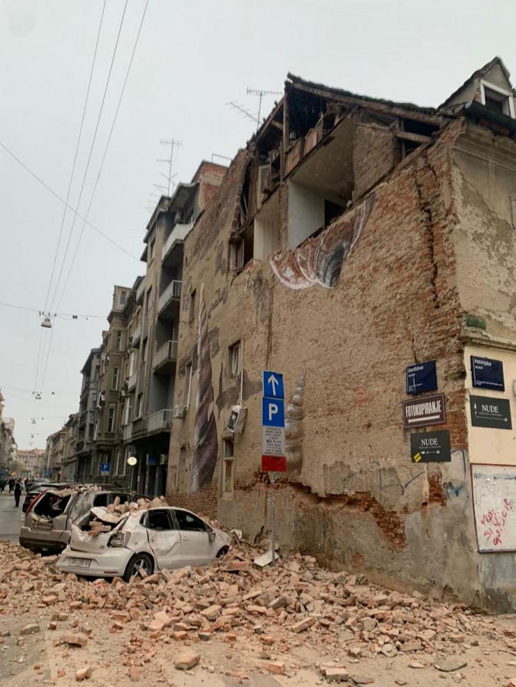saborni hram spc, zagreb, zemljotres
