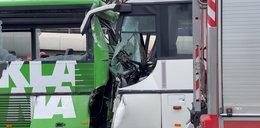 Zderzenie autobusów w Szczecinie. Poszkodowanych około 20 żołnierzy