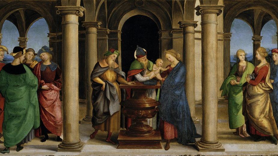 Ofiarowanie Pańskie wg Raphaela
