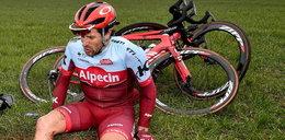Austriacki kolarz został potrącony przez samochód