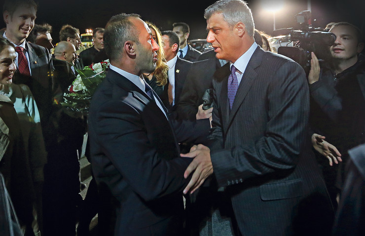 Kosovo Ramuš Haradinaj i Hašim Tači