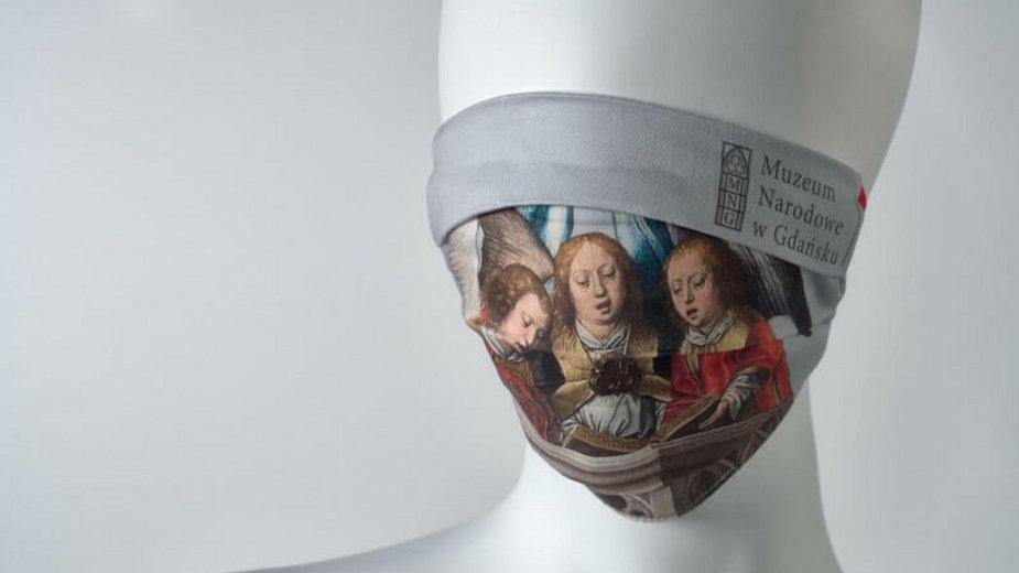 Maseczki od Muzeum Narodowego w Gdańsku